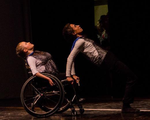 Danza in carrozzina al Teatro Nuovo