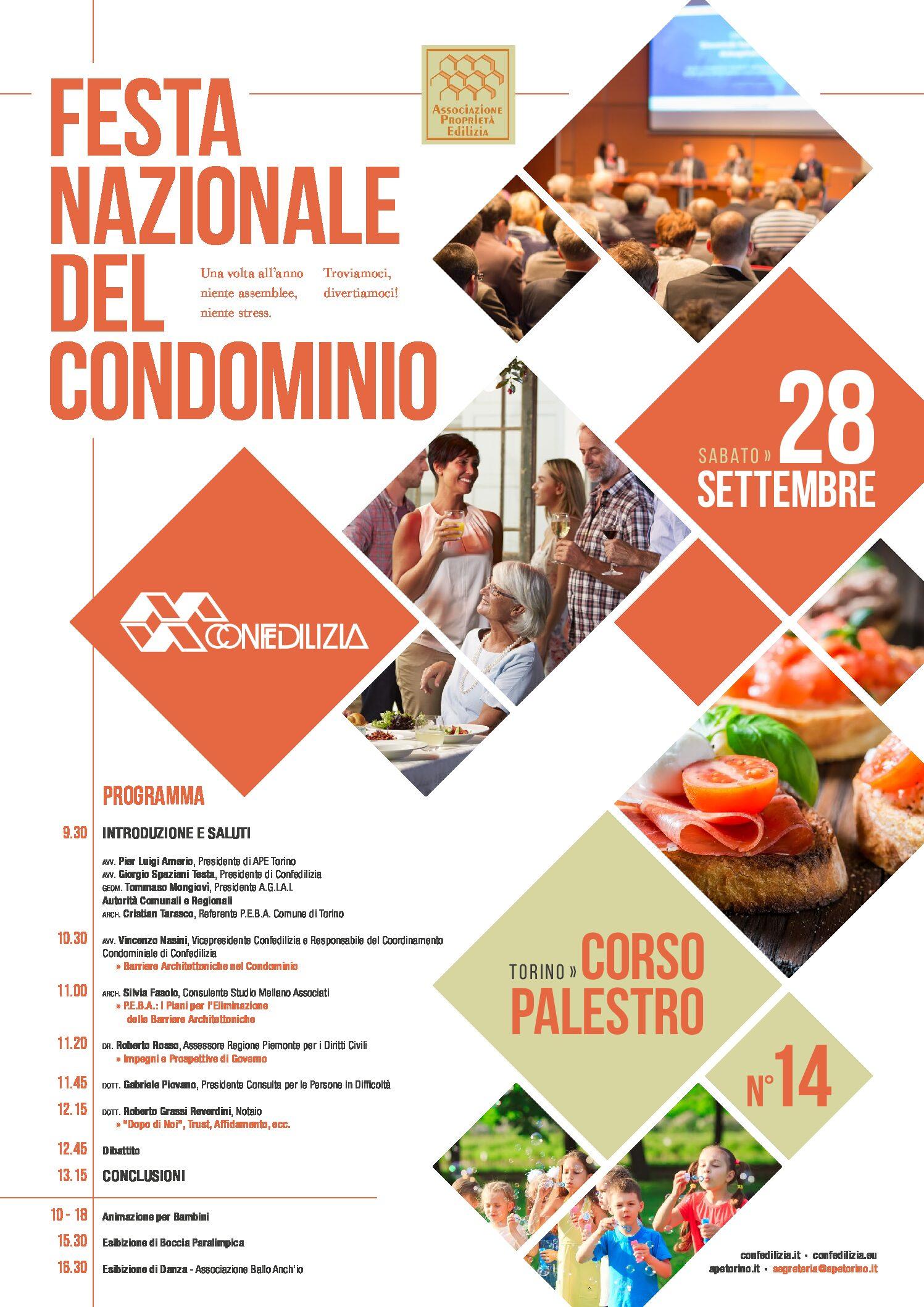 Festa nazionale del condominio