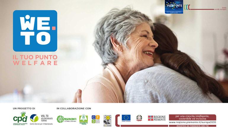 WE.TO – IL TUO PUNTO WELFARE – Servizio di supporto alle famiglie per la cura e l'assistenza dei propri famigliari