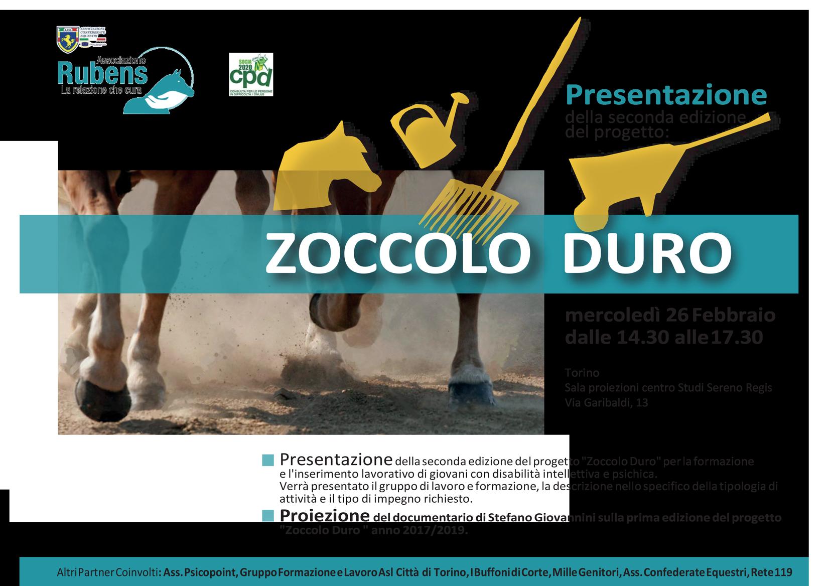 """""""Zoccolo Duro"""", seconda edizione"""