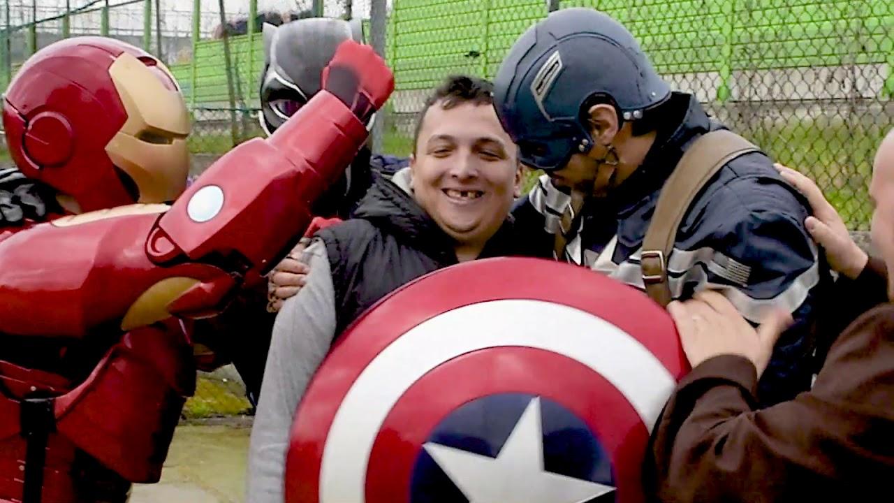 5 giugno 2020: Supereroi e Volontari!